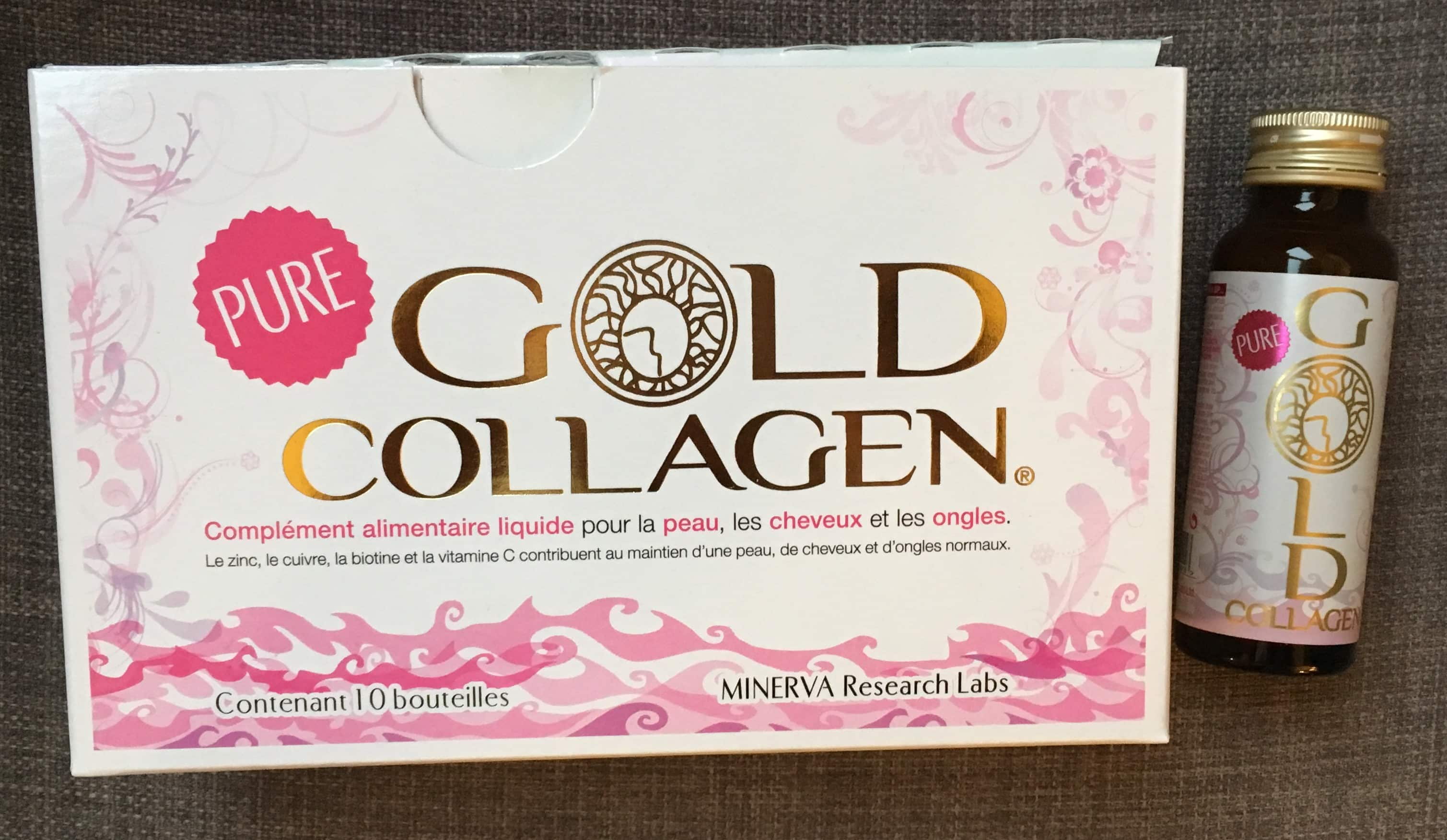 pure gold collagen un compl ment alimentaire liquide. Black Bedroom Furniture Sets. Home Design Ideas