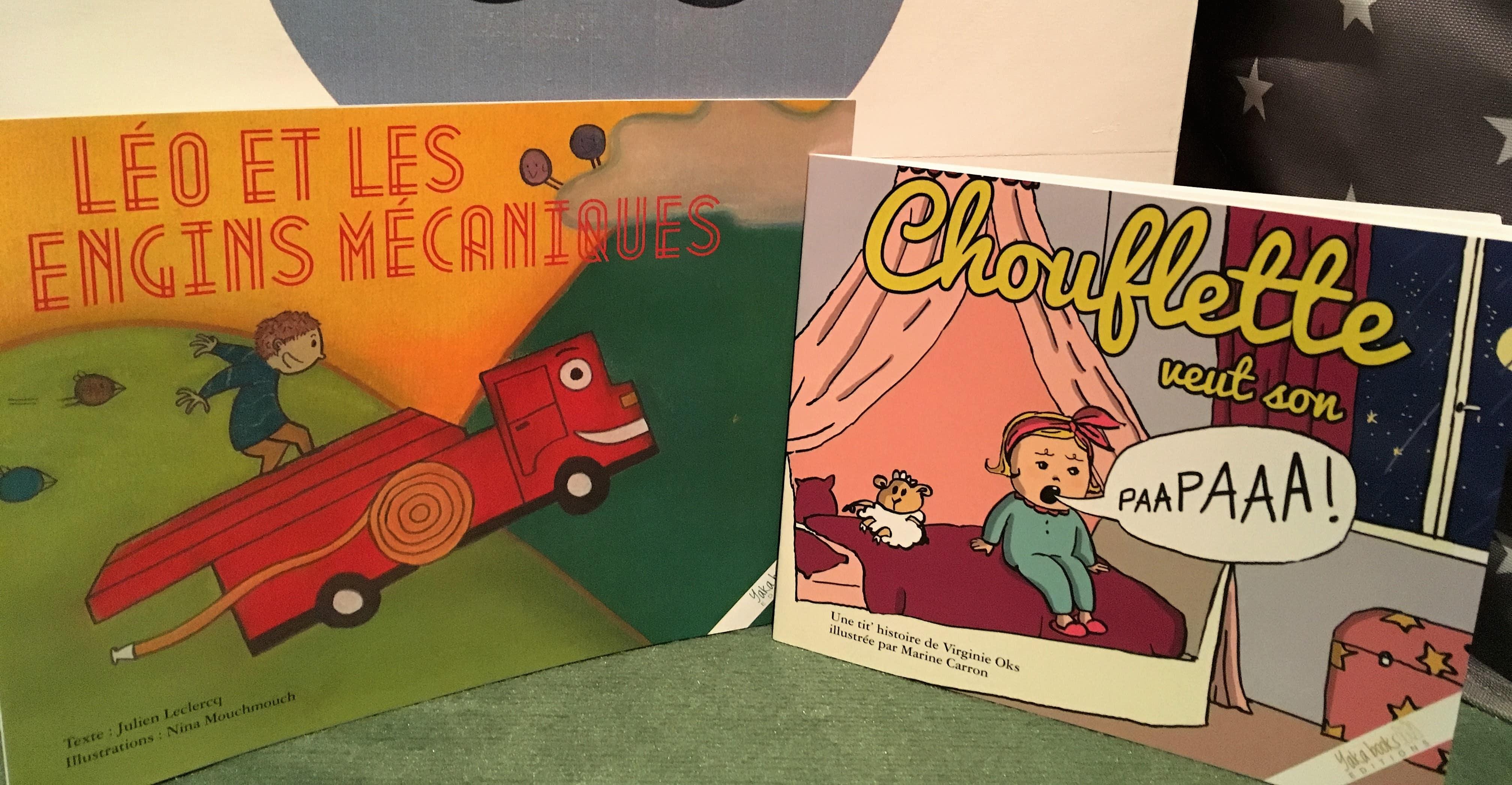 Chut, les enfants lisent.