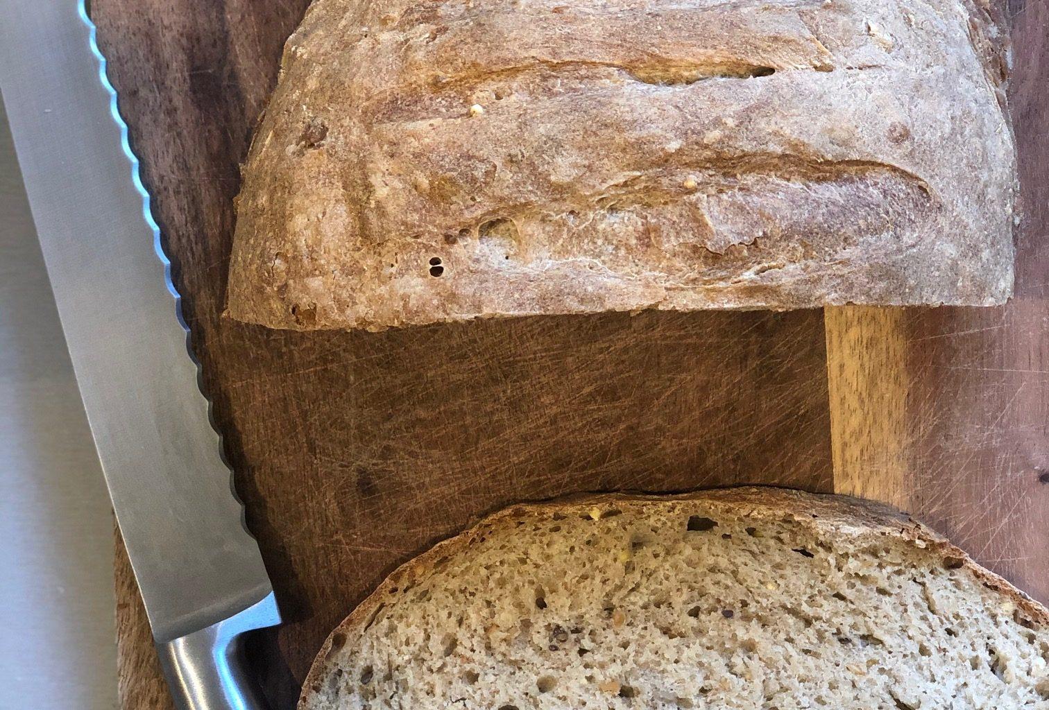 pain maison sans machine